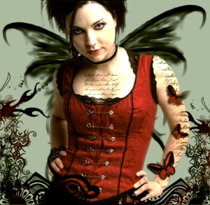 Amy Lee as Black Butterfly