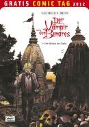 GCT 2012 Cover für 'Der Vampir von Benares'