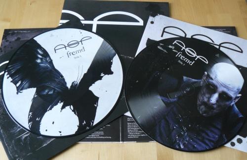Die 'Bedruckung' der Picture Vinyl-Platten