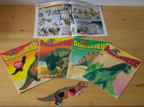 Dinosaurier!-Hefte mit 3D-Brille