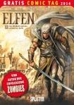 Gratis Comic Tag 2014 Cover vom Comic 'Die Elfen 3'