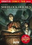 Gratis Comic Tag 2014 Cover vom Comic 'Sherlock Holmes & Das Necronomicon'
